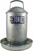 ETON Galvanised Drinker 1 Gallon (4.5 Ltr)
