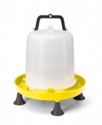 Yellow 10ltr Drinker with Handle & Legs
