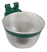 Aluminium Feed/Drinking Bowl for Cage