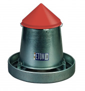 5Kg ETON Hanging Galvanised Feeder with Lid
