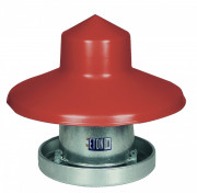 Eton 10Kg Galvanised Feeder with Rain Hat