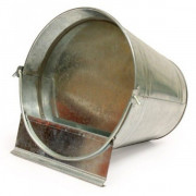 12Ltr Galvanised Bucket Drinker