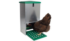 Rat Proof Treadle Feeders for Poultry