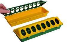 Trough Feeders for Poultry