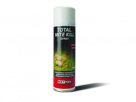Nettex Total Mite Kill Aerosol 500ml