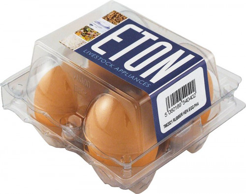 ETON Rubber Hen Eggs (pack of 4)