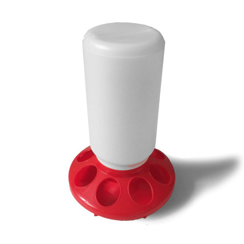 1 Kg Tube Chick Feeder with pop holes